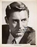 Cary Grant Signed