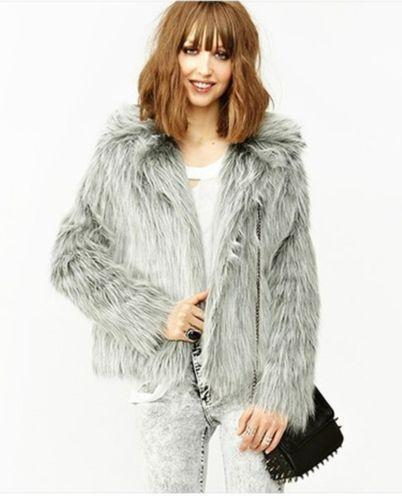 Zara Fur Coat Ebay