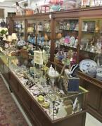 Antique Store Cabinet