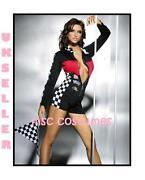 Race Girl Fancy Dress