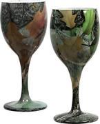 Green Wine Glasses