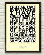 Lyrics Poster