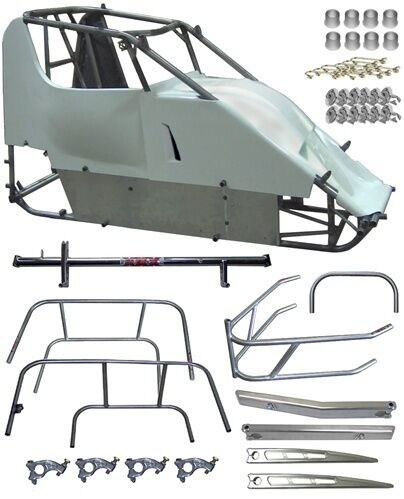 New Xxx Race Co Mini-sprint Racer Chassis Kit,micro,600