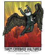 Them Crooked Vultures Poster