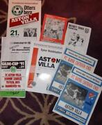 Football Programmes Job Lot
