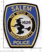 Massachusetts Police Patch