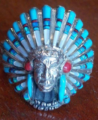 Native American Opal Ring Ebay