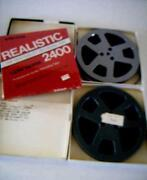 Reel to Reel Blank Tapes New