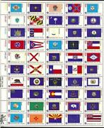 Unused US Stamp Sheet