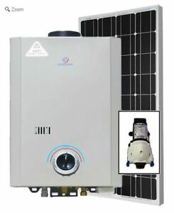 Eccotemp L7 Tankless Water Heater (w/ 12V pump & 100W Solar Kit)