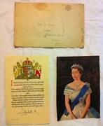 Queen Elizabeth Signed