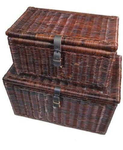 Wicker Trunk | EBay