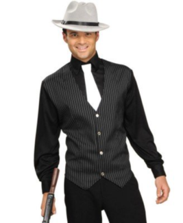1920's Gangster Costume Large