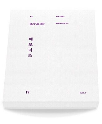 [FACTORY SEALED] BTS Memories Of 2017 Bluray+Tracking Number