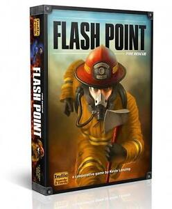 Flash Point: Fire Rescue Board game + 2 expansions NEW