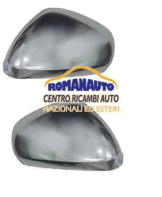 * COPPIA CALOTTE Cromate Satinate ALFA ROMEO GIULIETTA (Specchio Retrovisore)