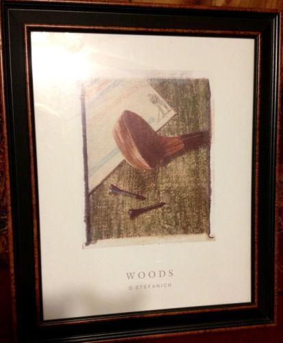 Framed Golf Art Ebay