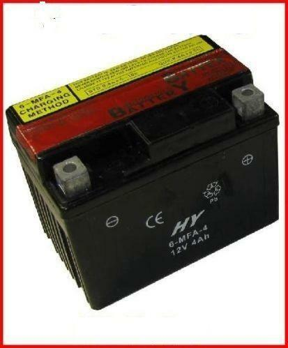 12v 4ah atv battery ebay. Black Bedroom Furniture Sets. Home Design Ideas