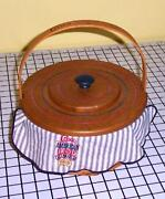 Longaberger Crisco Basket