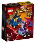 Super Heroes 76073 Mighty Micros: Wolverine vs. Magneto