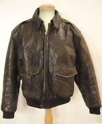 Lands End Leather Jacket