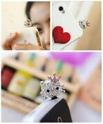 Crown Cell Phone Charm