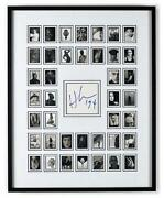 Herb Ritts Signed