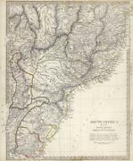 Antique Map Brazil