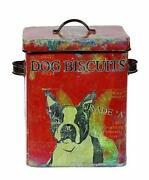 Dog Biscuit Tin