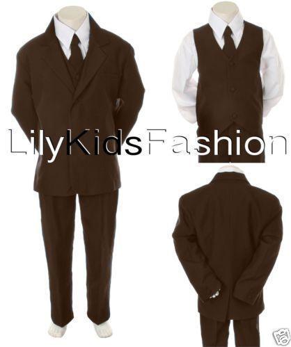 Boys Brown Suit | eBay