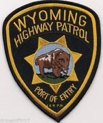 Wyoming Police Patch