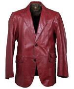 Mens Red Coat