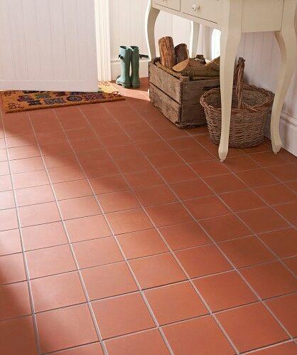 New quarry floor tiles paving interior exterior use terracotta colour in london bridge for Exterior terracotta floor tiles