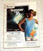 Sears Summer Catalog