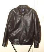 Mens Gap Leather Jacket
