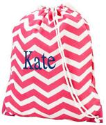 Personalized Drawstring Bag