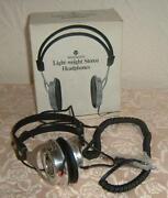 Vintage Stereo Headphones