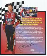 Jeff Gordon Postcard
