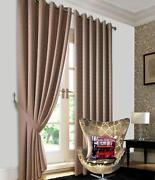 Gold Jacquard Curtains
