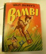 Walt Disney Bambi Book