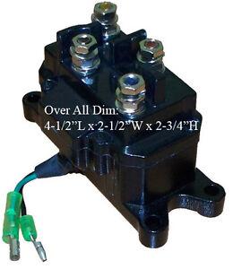 SOLENOID-RELAY-Contractor-Relay-Reversing-Motor-ATV-UTV-Truck-Winch-12V