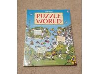 USBORNE PUZZLE WORLD CONTAINS PUZZLE ISLAND, PUZZLE TOWN AND PUZZLE FARM