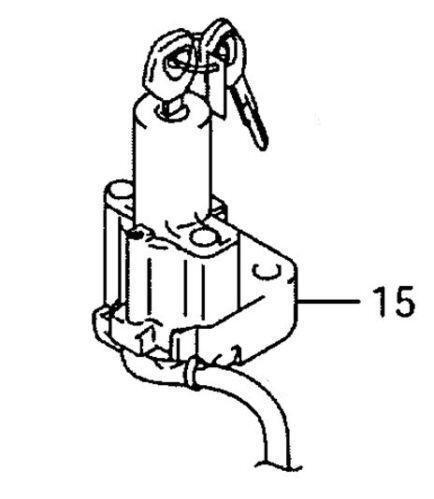 Hayabusa Ignition Motorcycle Parts