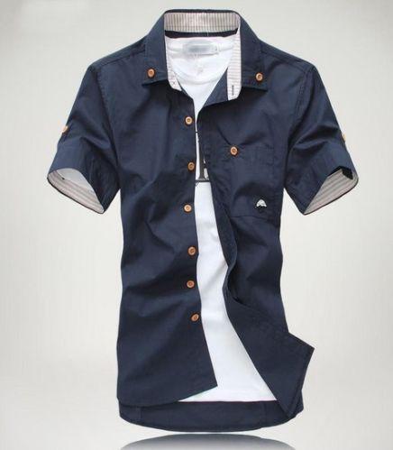 Mens Slim Dress Shirts