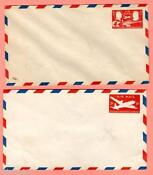 Airmail Envelopes Unused