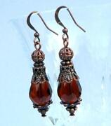 Antique Amber Earrings