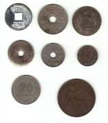 Old Foreign Coin Lot