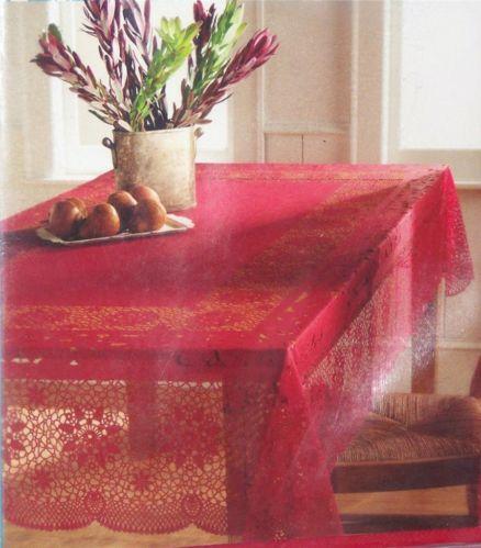 Vinyl Christmas Tablecloths Flannel Backed