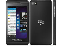 Blackberry Z10 unlocked 4G handset and BB pouch