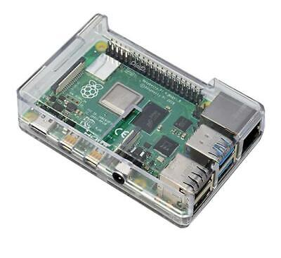 Best Selling Clear Case for Raspberry Pi 4  Model B Clear by SB
